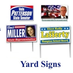 Yard Signs Political
